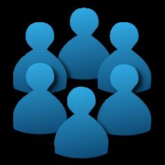 تعریف اشخاص، کاربران، گروه های کاربری و تنظیمات و دسترسی هر یک